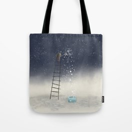 Harvesting Stars Tote Bag