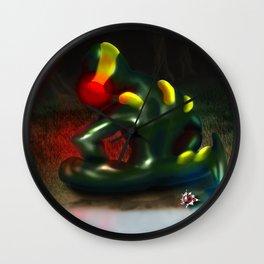 Oneiric Creature Wall Clock