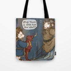 Bilbo the burglar Tote Bag