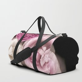 Purple, Pink, and White Roses Duffle Bag