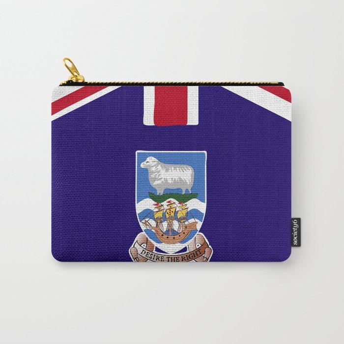 Falkland Islands flag emblem Carry-All Pouch