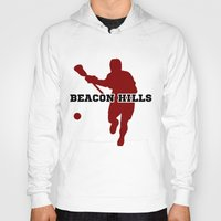 lacrosse Hoodies featuring Beacon Hills Lacrosse by Keyweegirlie