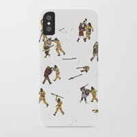 fight iPhone & iPod Cases featuring Fight! by Joe Lillington