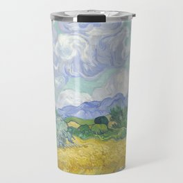 Vincent van Gogh - Wheat Field With Cypresses Travel Mug