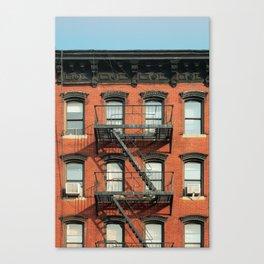 FACADES OF NY - 02 Canvas Print