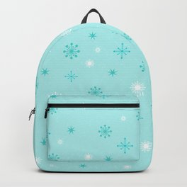 AFE Turquoise Snowflakes Backpack