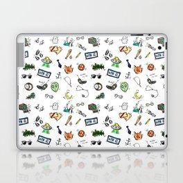 Spooky Doodles Laptop & iPad Skin
