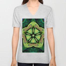 estrella pavo Unisex V-Neck
