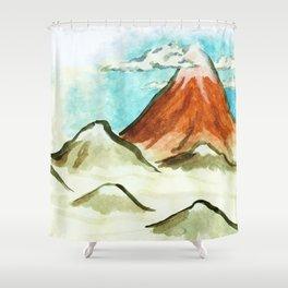 clearer air Shower Curtain