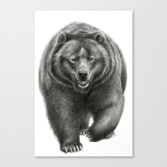 Brown Bear SK068 Canvas Print