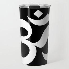 om sacred sound symbol Travel Mug