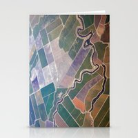 quilt Stationery Cards featuring Patchwork Quilt by premedia