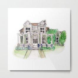 Custom House Painting Metal Print