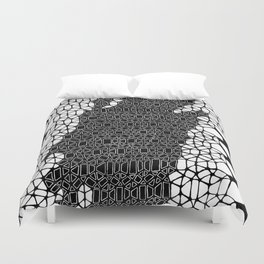 Honeycomb 4 Duvet Cover