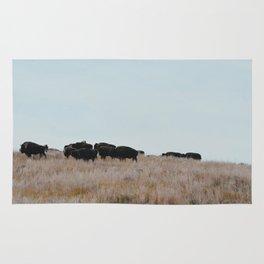 Prairie Bison Rug