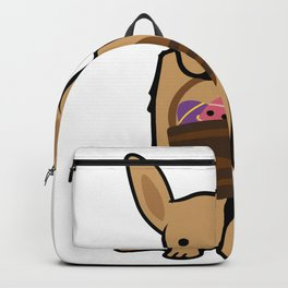 Golden Easter Funny for Boys Girls Love Dog Puppy Backpack
