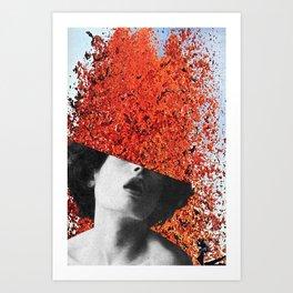 Die in Despair / Live in Ecstasy Art Print