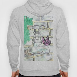 Garden tap and butterfly Hoody