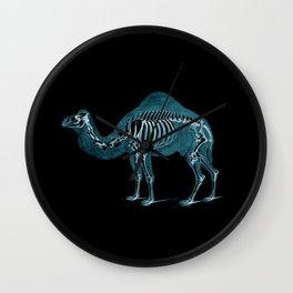 Camel X-ray - Camel Print - Camel Wall Art - Animal X-ray Wall Clock