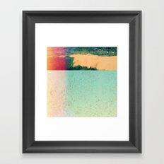 RED 40 Framed Art Print