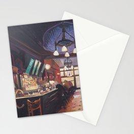 My Deer Pub - Typical Bar Scene In Ireland Scotland or England Stationery Cards