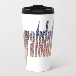 WordArt - Congratulations Travel Mug