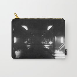 Sci-Fi Hall 3D Artwork Carry-All Pouch