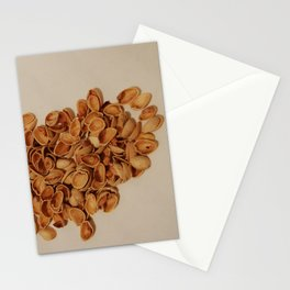 Pistachios after party Stationery Cards