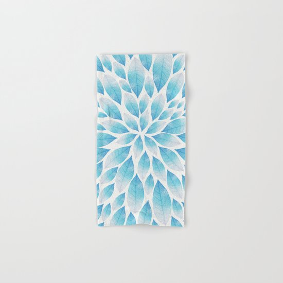 Petal Burst #9 Hand & Bath Towel