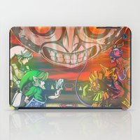 majoras mask iPad Cases featuring Legend of Zelda Majoras Mask by LuisIPT