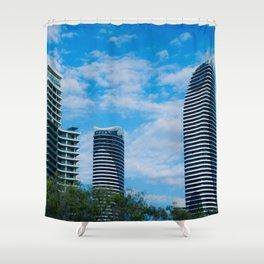 Broadbeach High Rise Shower Curtain