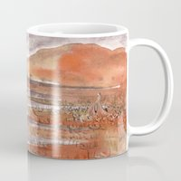 jamaica Mugs featuring Jamaica Inn by Emily Kumori