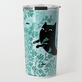 Undersea (Mint Remix) Travel Mug