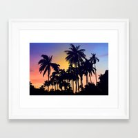 palm tree Framed Art Prints featuring palm tree by mark ashkenazi