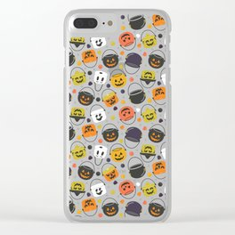 Halloween Candy Buckets Clear iPhone Case