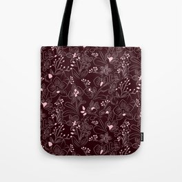 Dark Orchids Tote Bag