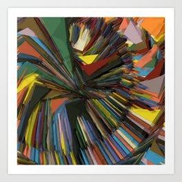 Circling the wagons Art Print