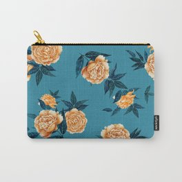 Sunny Peonies Carry-All Pouch