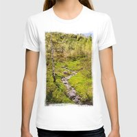 river T-shirts featuring River by Julie Luke