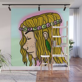 Natural Ella | Veronica Nagorny Wall Mural