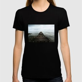Faded planks T-shirt