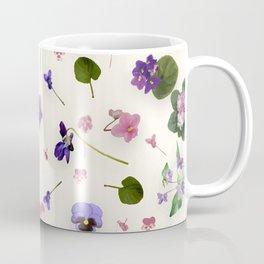 Delicate Violets Coffee Mug