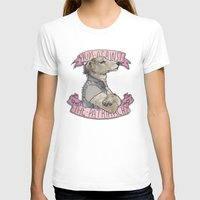 patriarchy T-shirts featuring Pups against the Patriarchy  by Cesca Summers