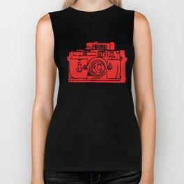 Click Click Red Biker Tank