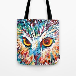 Who In Blue Tote Bag