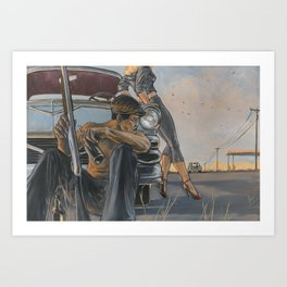 Baby... This Old Con Ain't Gonna Last Forever Art Print