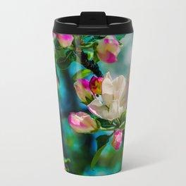 Crabapple flower and buds Travel Mug