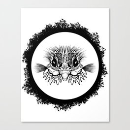 Half Bird Canvas Print