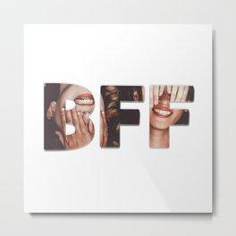 BFF Metal Print