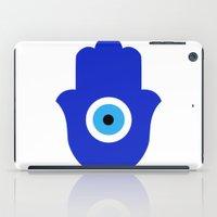 evil eye iPad Cases featuring Evil Eye by Marcaccini Studios